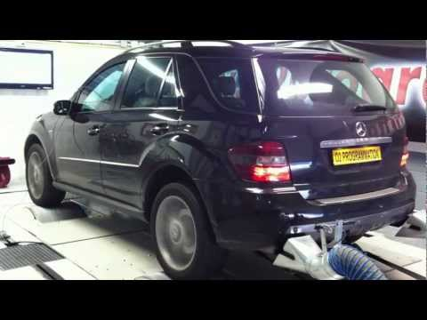 o2programmation mercedes ml 320 cdi test dyno. Black Bedroom Furniture Sets. Home Design Ideas