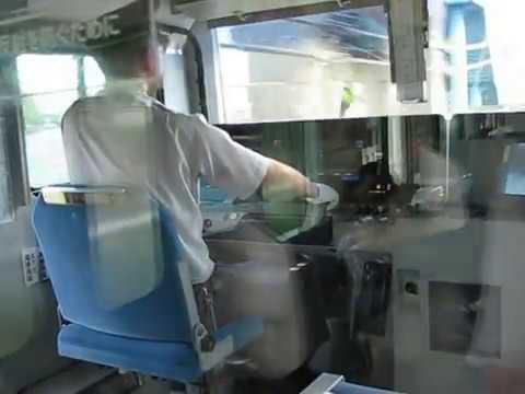 Masinis Kereta JR Tokkaido Jepang