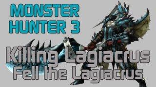 MH3U Monster Hunter 3 Ultimate Low Rank Lagiacrus