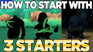 How to Get 3 Starters in Pokemon Ultra Sun & Moon   Austin John Plays