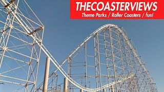 Desperado Roller Coaster (HD POV Front) BUFFALO BILLS