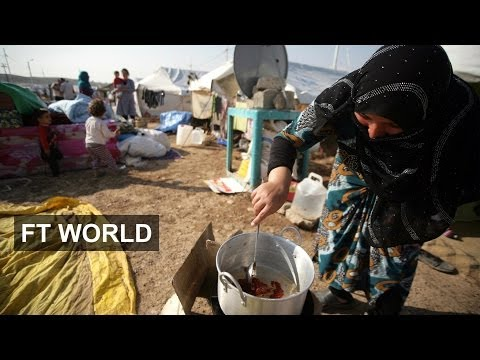 Ban Ki-moon visits Syrian refugees in Iraq