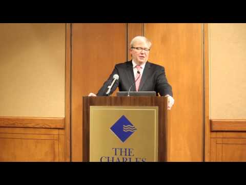 Kevin Rudd Speaks at Harvard China Forum 2014