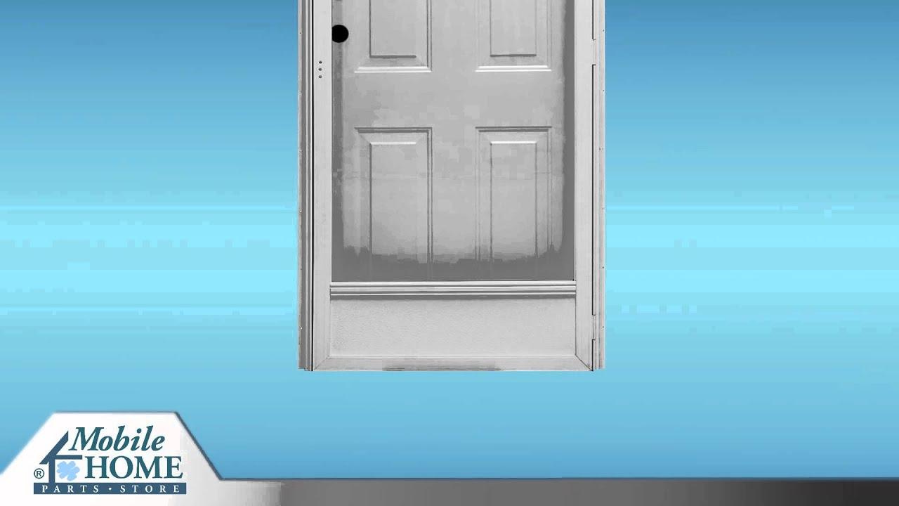 1080 #2188AA Kinro Steel Combination Exterior Door Features Mobile Home Parts  save image Steel Doors For Home 43671920