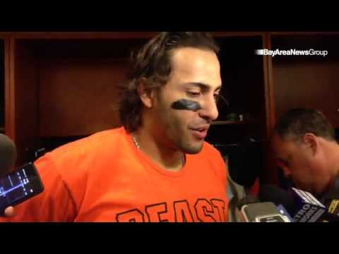 After 2Pac and Snoop subside, #SFGiants slugger Michael Morse talks about being humbled by Giants fa