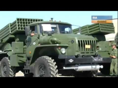 Tornado G new 122mm MLRS multiple launch rocket system Russian army of Russia Video RIA Novosti