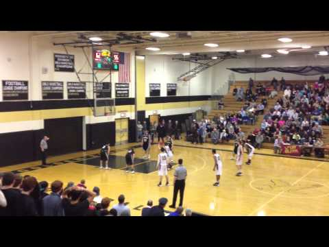 Concord Carlisle High School Basketball 2014 State Semi-Finals Victory!