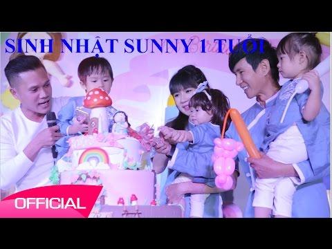 Sinh Nhật con gái Lý Hải Minh Hà - Sunny Nguyện Tuệ Minh 1 tuổi