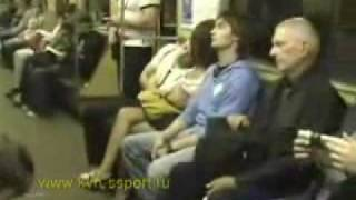 HOT GIRL on Subway