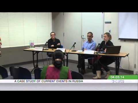 News and Noise in Media Content: A Case Study of Current Events in Russia