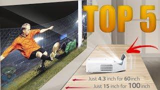 Top 5 Best Projectors 4K for 2019 - Best Home Theater Projectors