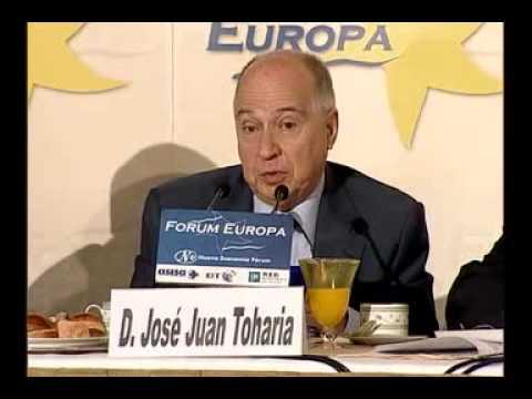 Fórum Europa con José Juan Toharia y Pedro Arriola