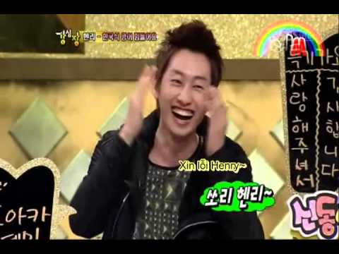 [Vietsub] Strong Heart   Henry cuts