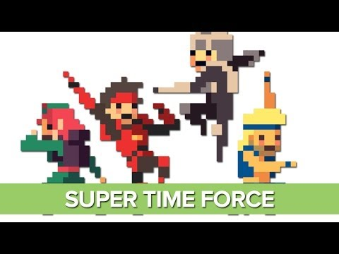 Let's Play Super Time Force - Xbox One Gameplay