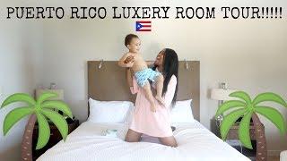 PUERTO RICO LUXURY GETAWAY/ROOM TOUR!!!!!