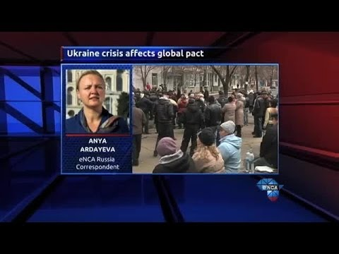 Ukraine crisis affects global peace pact