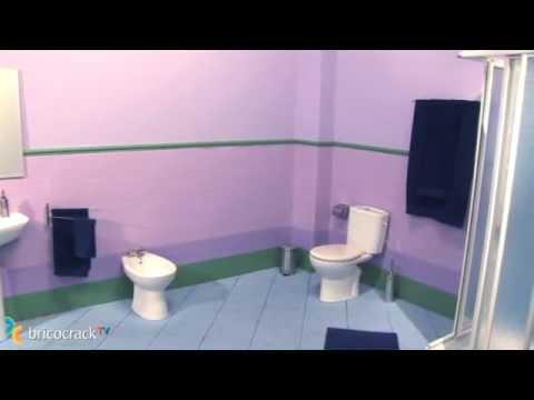 Pintura cambiar el aspecto de los azulejos decoraci n bricocracktv youtube - Cambiar azulejos bano ...
