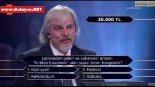 Kim milyoner olmak ister 10 Mayıs 2014 344. bölüm Gökhan Önem