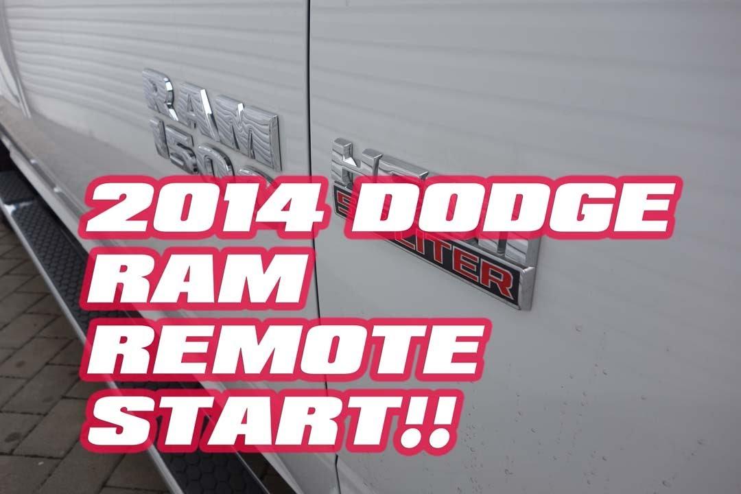 dodge ram  remote start ram   autotoys  compustar idatalink youtube