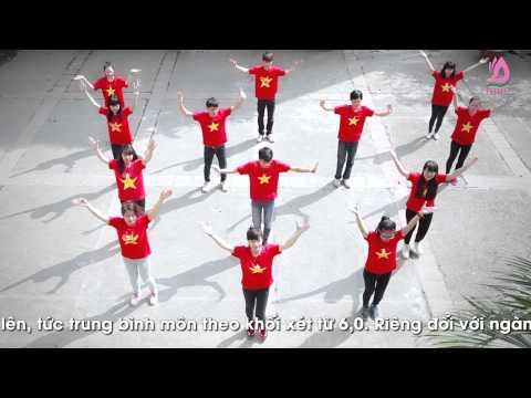 Flash mob Việt Nam ơi - sinh viên ĐH Đông Đô