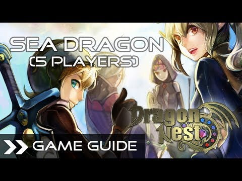 Dragon Nest Online - Sea Dragon Nest Full Run (5 Players) Raid Party HD 1080p