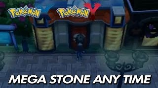 Pokemon X & Y How To Find Mega Stones At Any Time