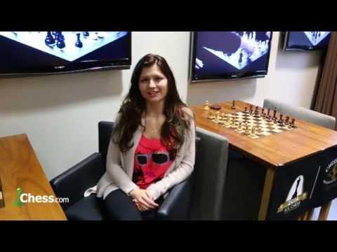 2014 US Championship Interview with Alisa Melekhina