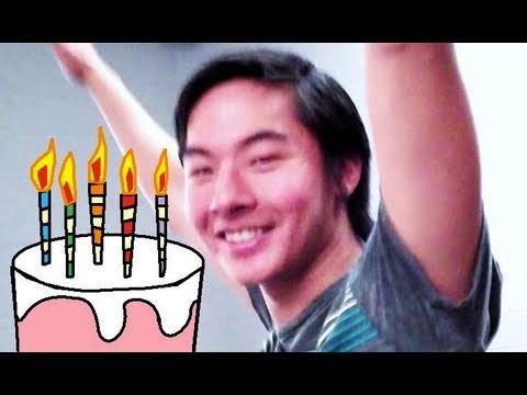 Nigahiga & Kevjumba's BDAY PARTY in VEGAS! (Vlog #205)