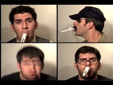 Enter Kazoo Man:  Metallica Enter Sandman performed on KAZOO by Mister Tim (multitrack)