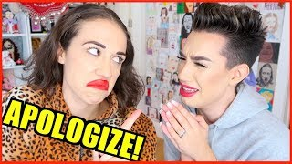 Making James Charles Apologize To His HATERS!