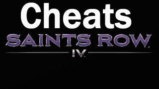 Saints Row 4 Cheat Codes PT2: Unlock All, Big Head Mode