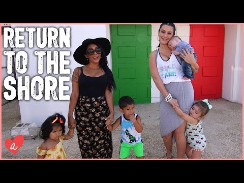 Snooki and JWOWW Return to the JERSEY SHORE!   #MomsWithAttitude Moment