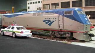 Amtrak Engine 21