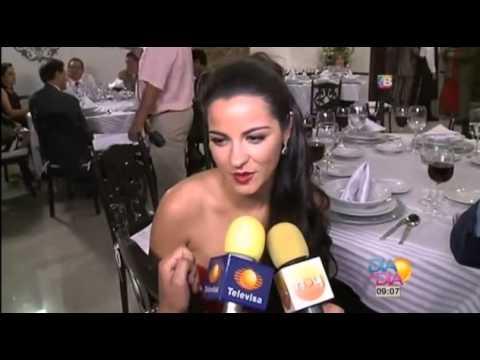 Maite Perroni y Daniel Arenas graban fiesta en La Gata