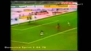02/04/1978 - Campionato di Serie A - Juventus-Torino 0-0 (lo scandalo del gol annullato a Benetti per fuorigioco inesistente)