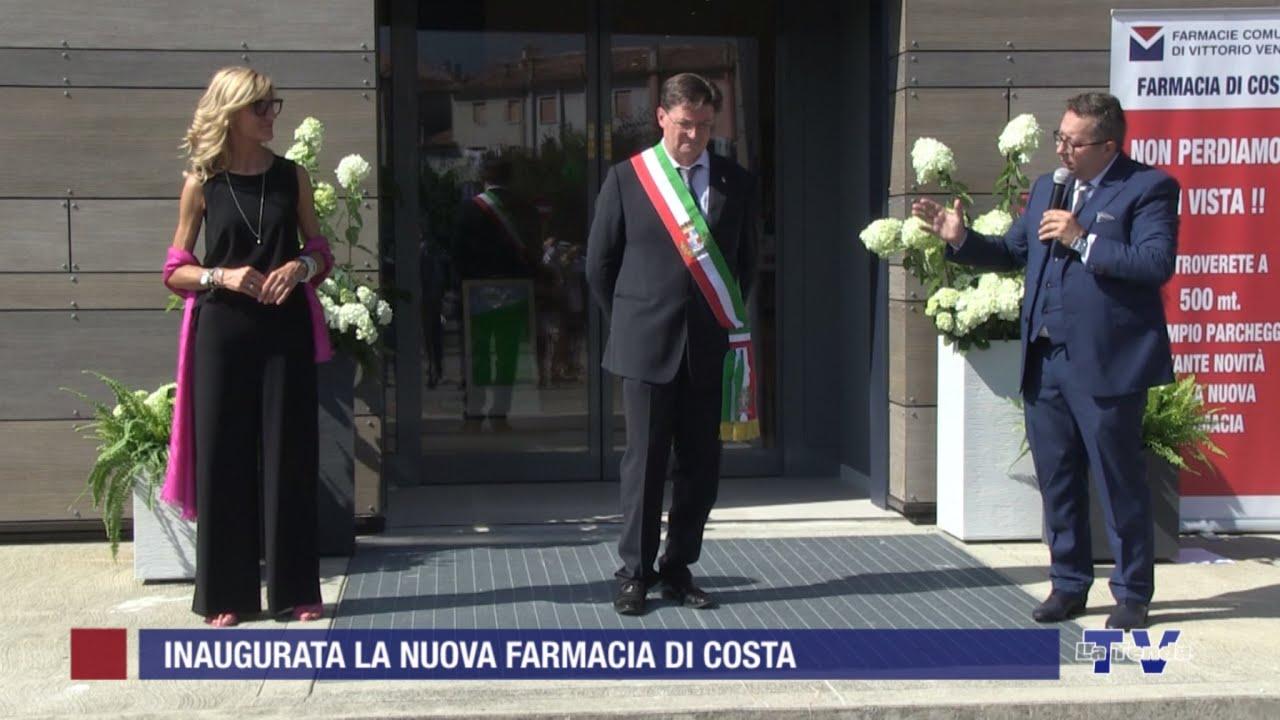 Vittorio Veneto. Inaugurata la nuova Farmacia di Costa