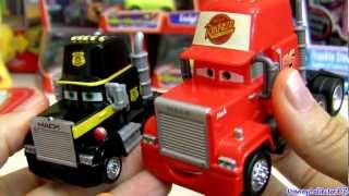 Cars Mack Semi Truck With Sheriff Deputy Blue Luigi Disney