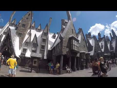 The Wizarding World of Harry Potter & Hogwarts Express Universal Studios Orlando 1080HD
