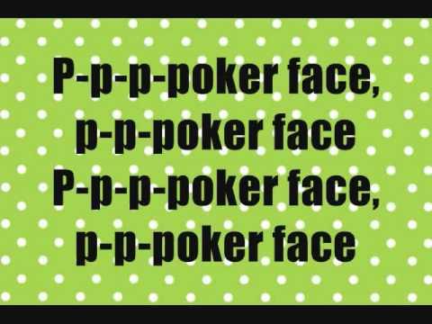 Lady gaga songs poker face lyrics