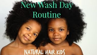 KIDS Wash Day Routine Natural Hair