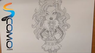 Dibujar A Clawdeen Wolf De Monster High
