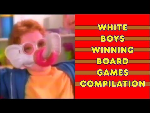 White boys winning board games