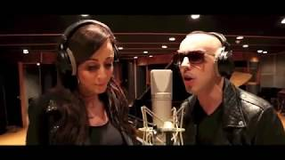 Obsesion - Kenza Farah et Lucenzo en studio