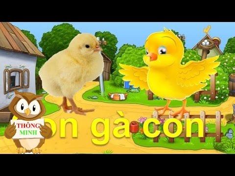 Dạy bé học các con vật Tiếng Việt | tiếng kêu con mèo con gà con| dạy trẻ thông minh sớm