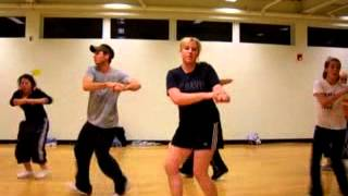 Tari Mannello Teaching Hip-Hop Dance Choreo at 24hr fitness 2003 featuring Fabolous