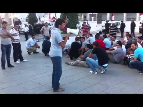 المعطلين : الوالي مالك مخلوع ، الإحتجاج حق مشروع