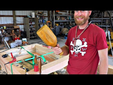Timber Framed Raised Garden Bed - SUPER FANCY!!