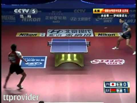 Asia vs. Europe 2011: Jun Mizutani-Vladimir Samsonov