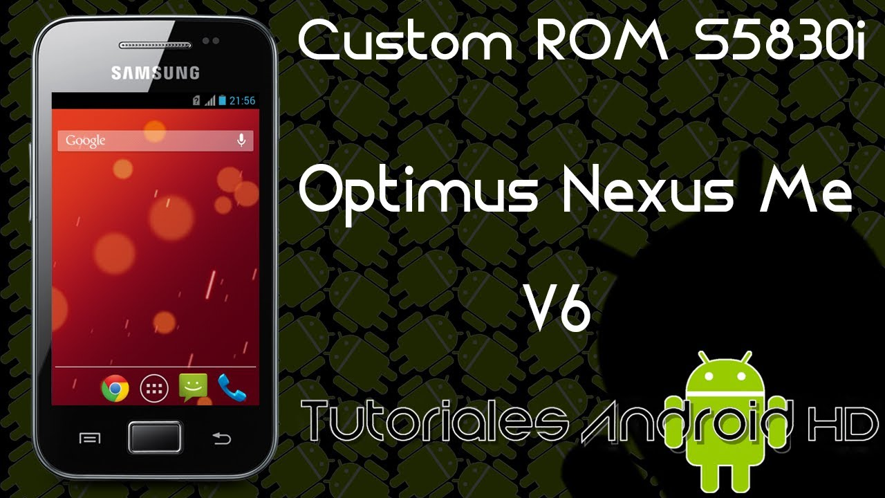Optimus V Custom Rom