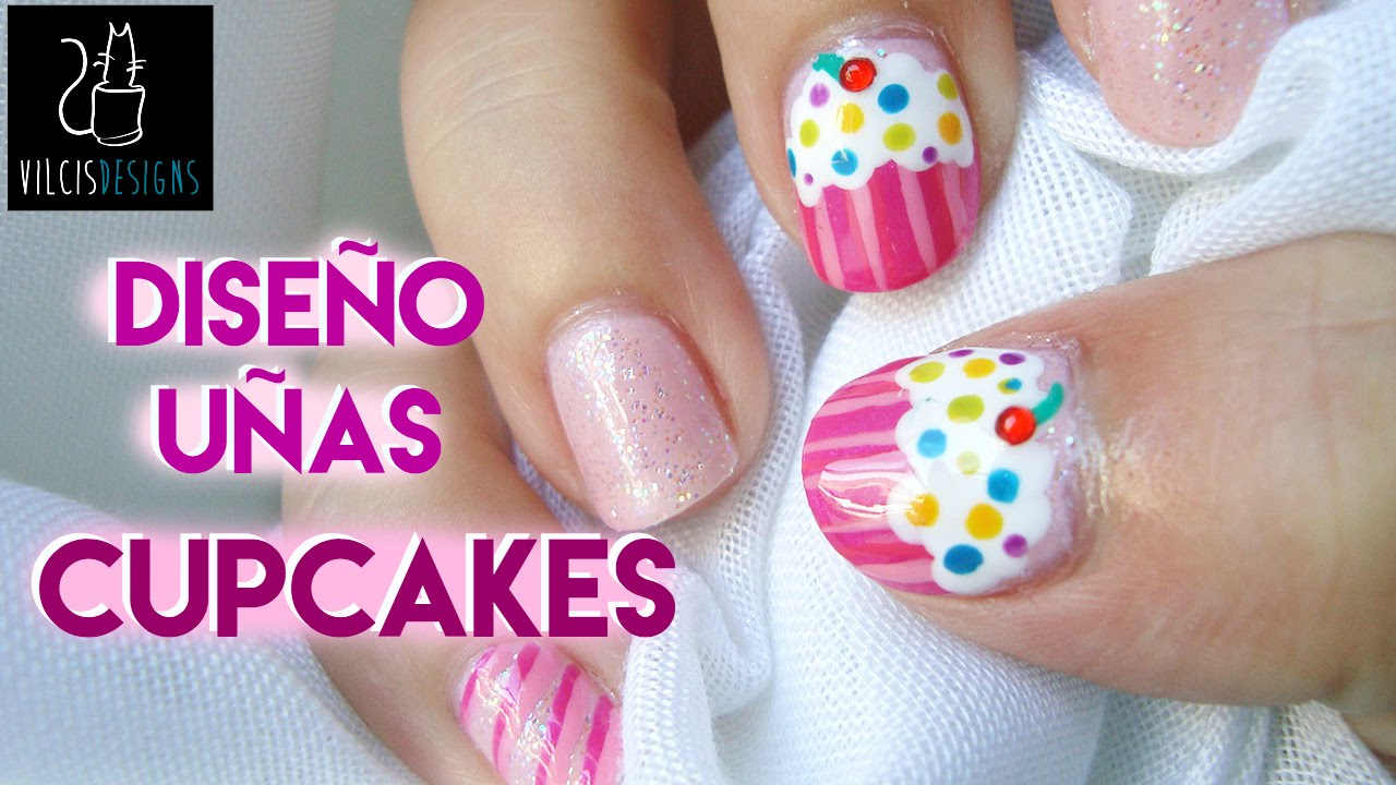Dise o de u as pastelitos rosas nail design pink - Diseno d unas ...